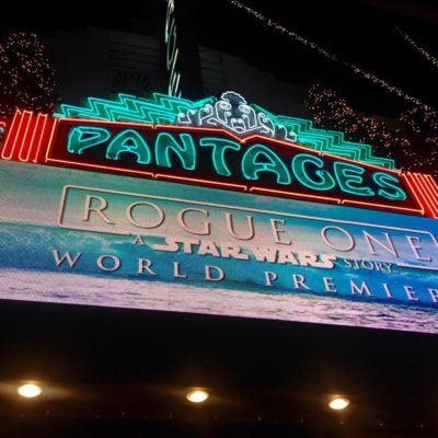 More Info for Rogue One: A Star Wars Story World Premiere